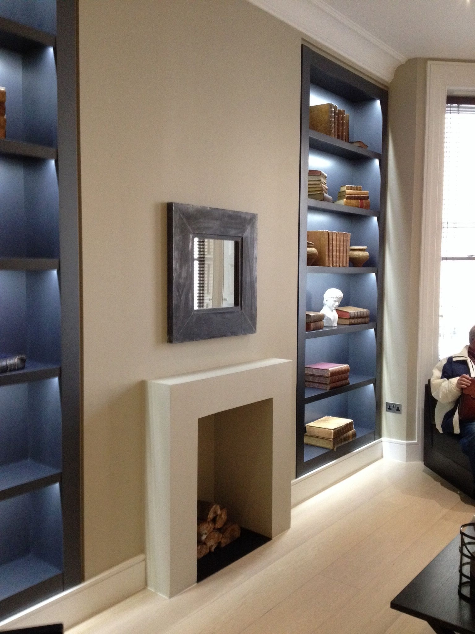 Pin On Lisa Modern Victorian Small Living Room With Chimney Breast
