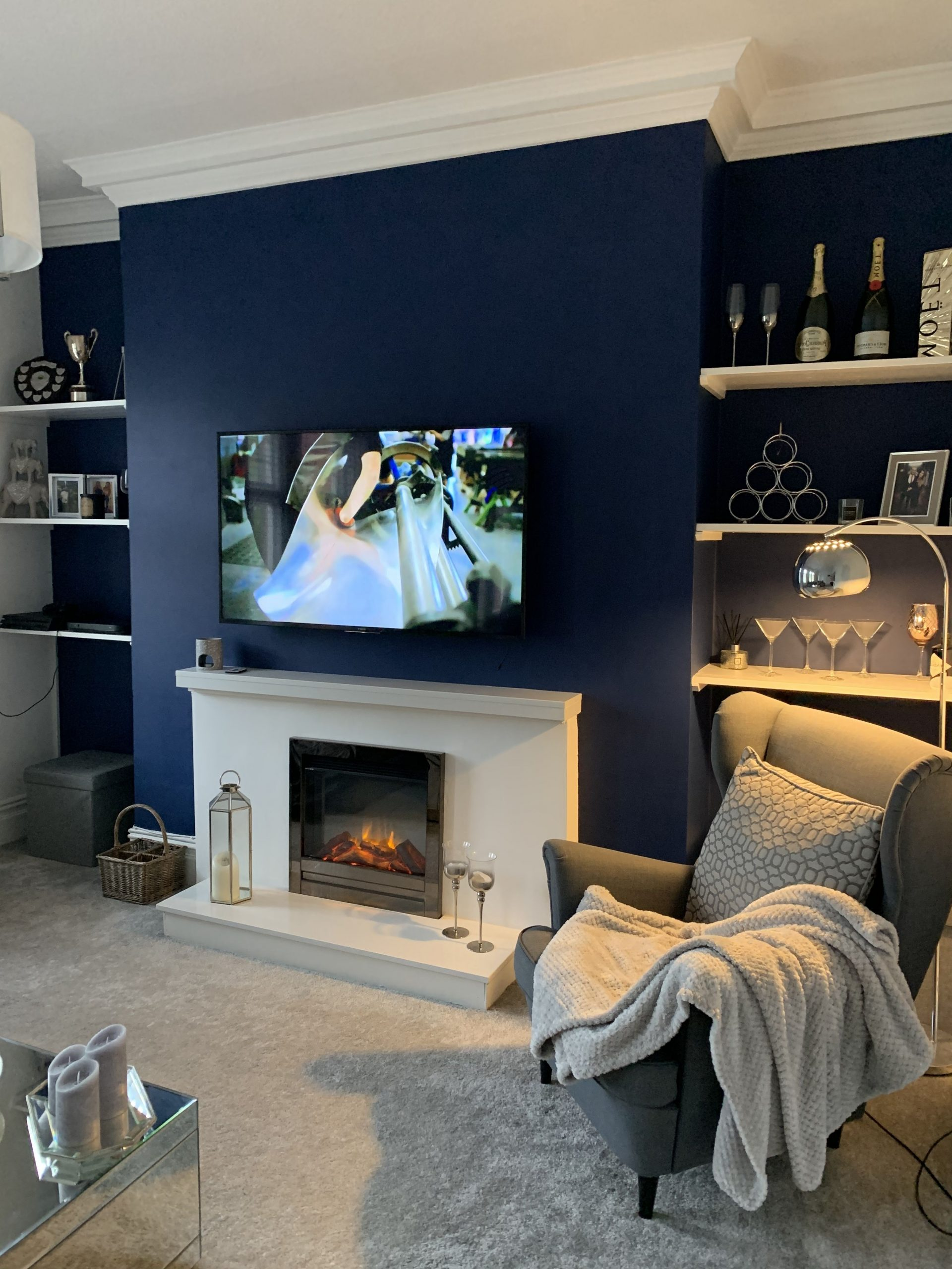 Pin On Our Casita 30+ Living Room Chimney Breast Inspirations