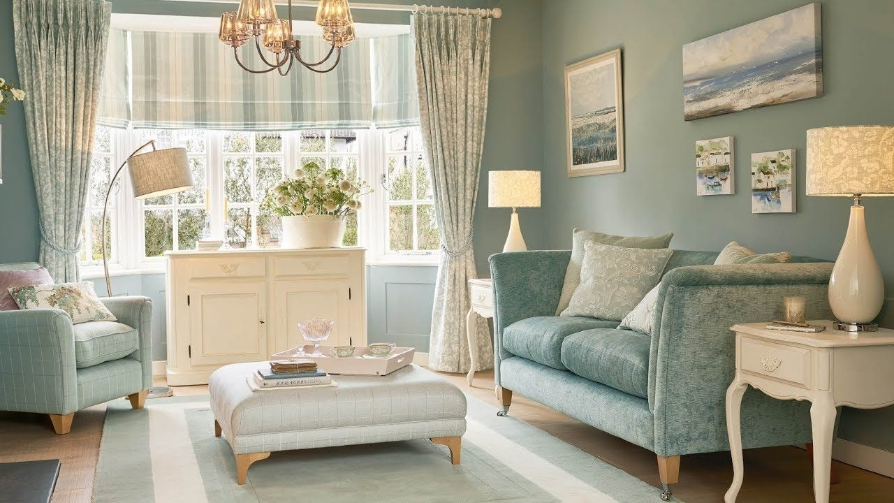 Pin真真 李 On Sims 3 Laura Ashley Style | Duck Egg Blue 30+ Living Room Decorating Duck Egg Inspirations