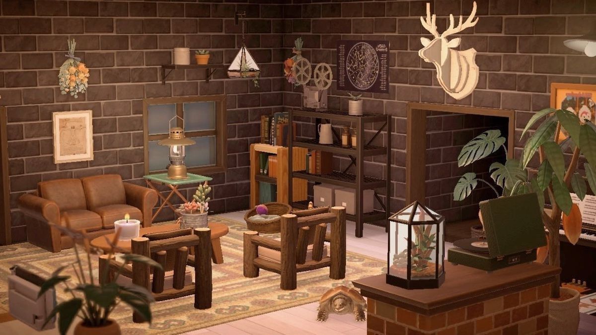Pinpaige On Animal Crossing New Horizons In 2020 Acnl Living Room