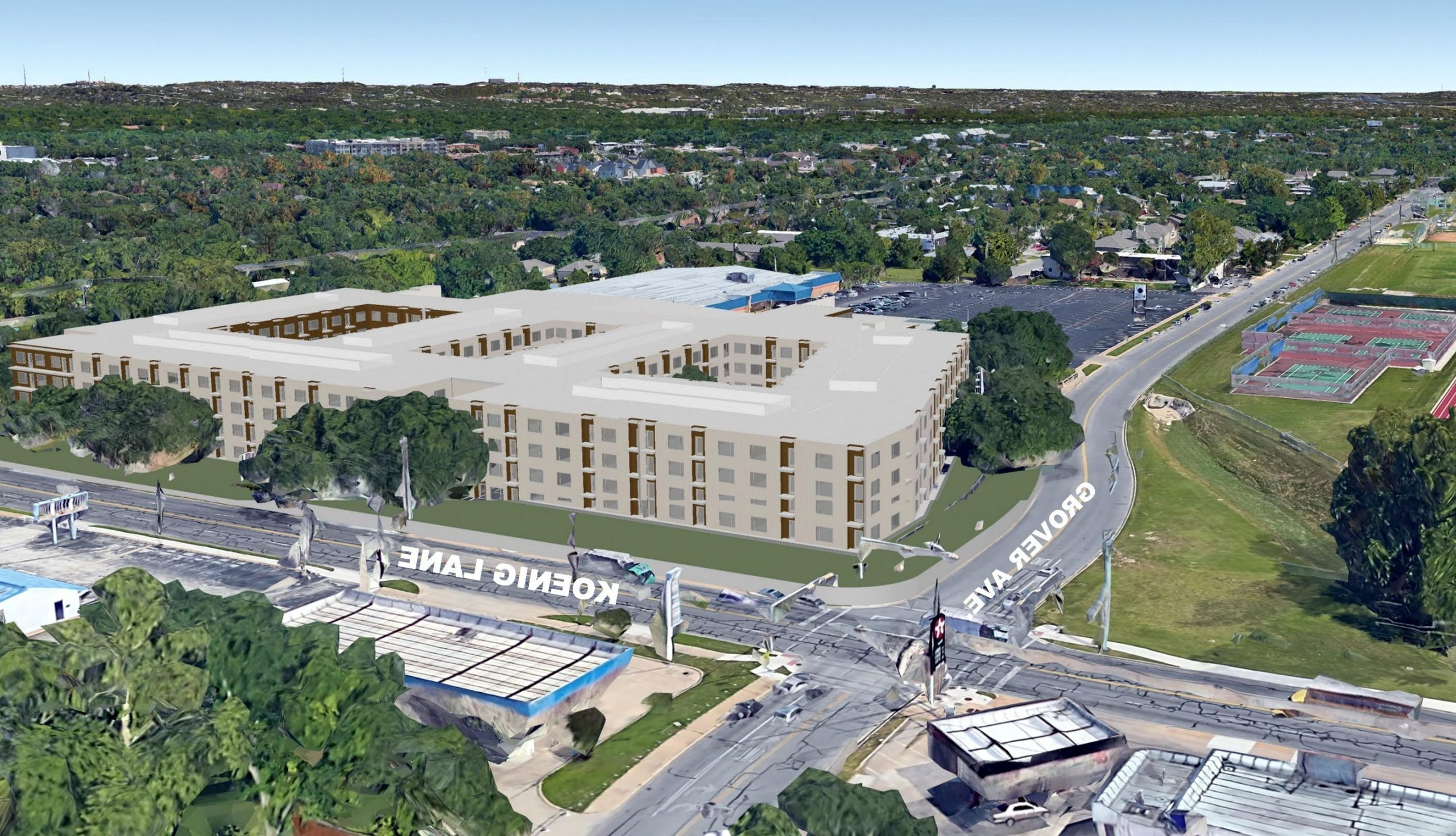 Prepare For The Pearl Apartments At West Koenig'S Former 40+ Texas Donut Apartment Design Inspirations