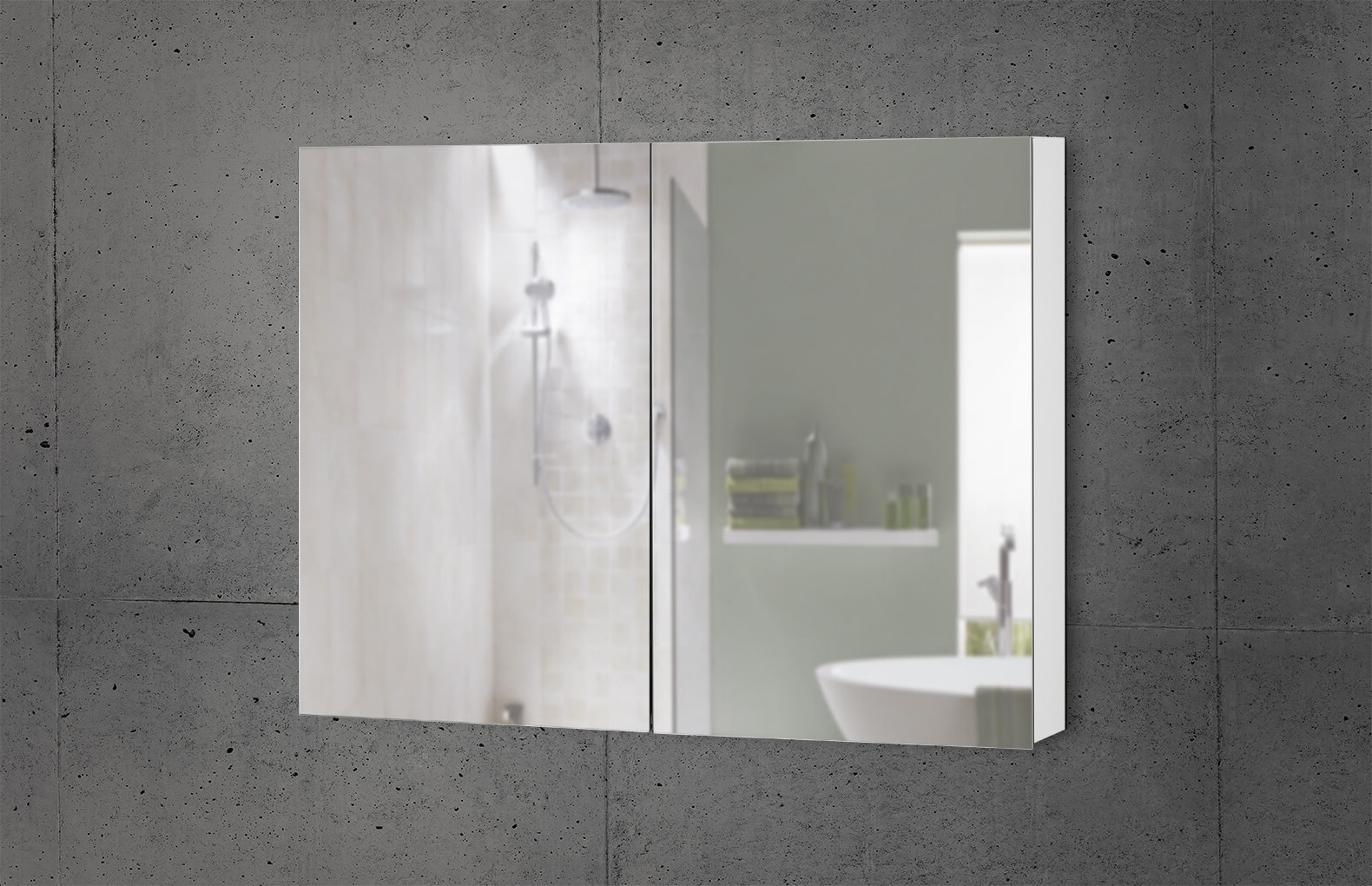 Products W. Schneider+Co Ag 30+ Neue Design Led Illuminated Bathroom Mirror Cabinet Inspirations