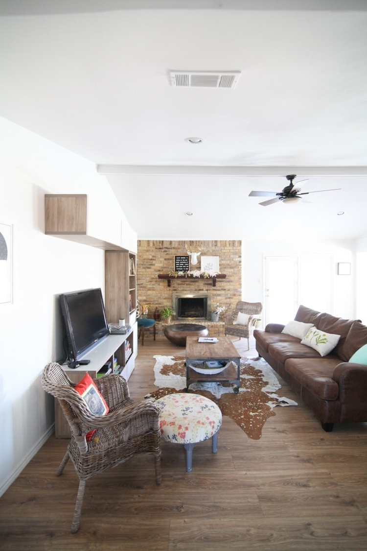 Ranch Style Living Room Before And After Pictures Makeover 60 Minute Makeover Living Room