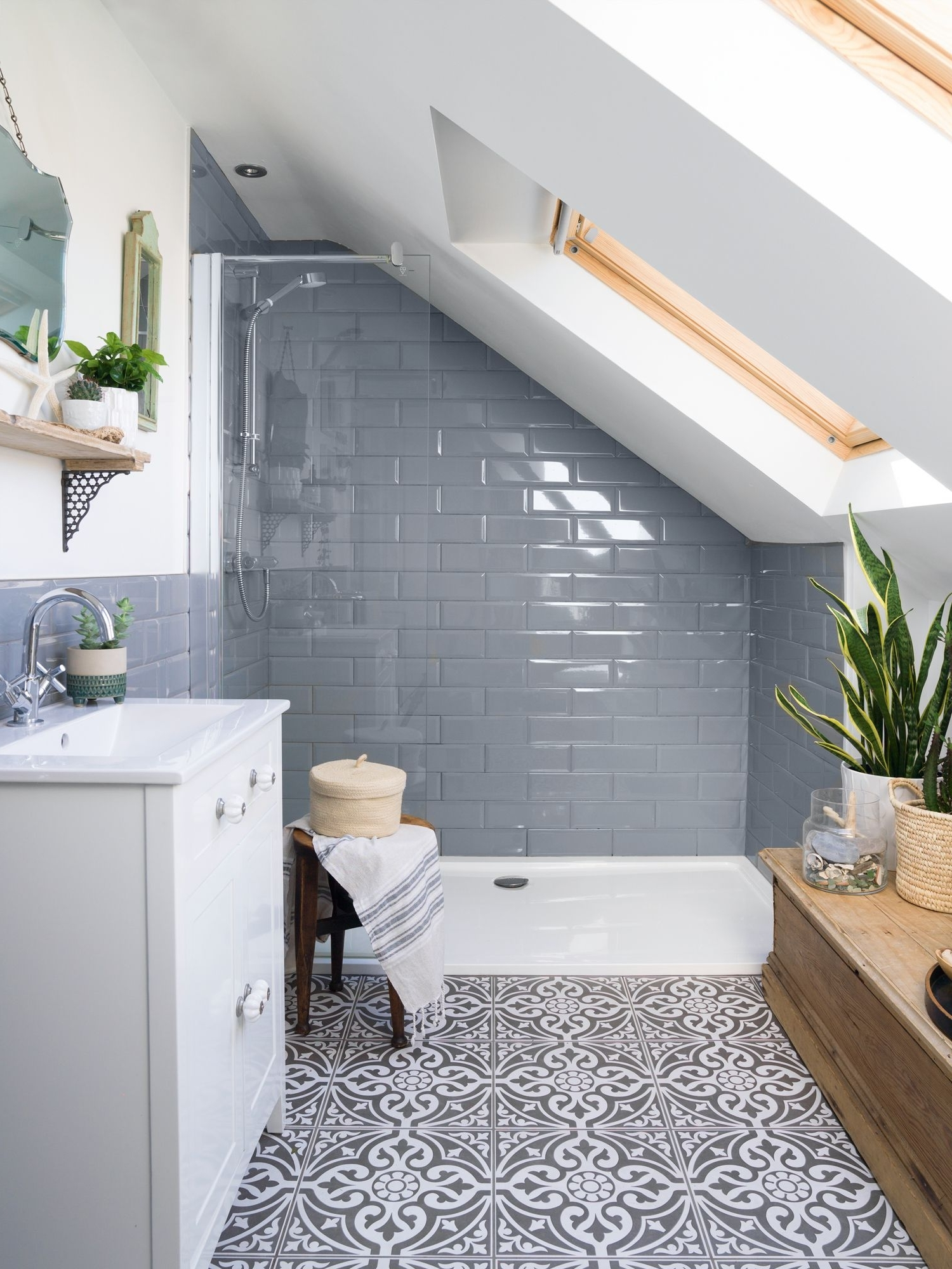 Real Home: An Edwardian Terrace With A Loft Conversion Gets Small Bathroom Loft Conversion