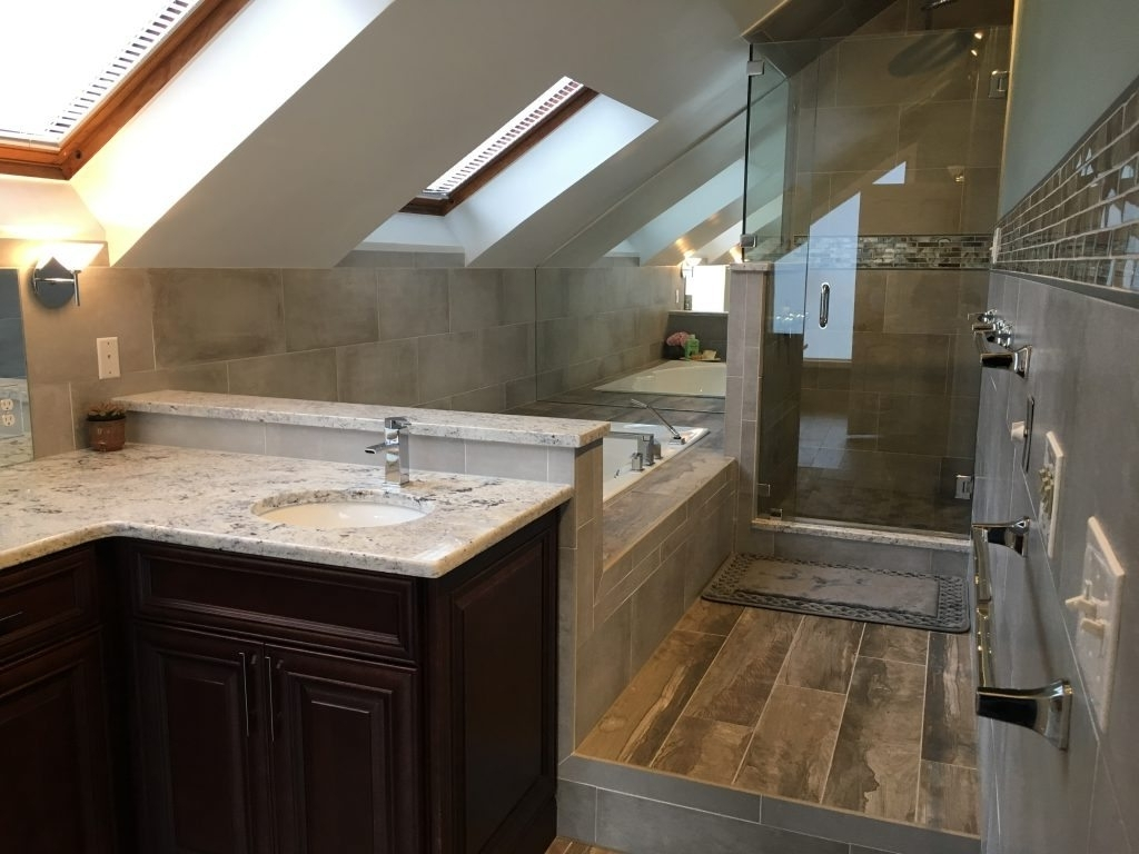 Remodeling A Bathroom With Pitched Roof Monk'S Home Pitched Roof Bathroom