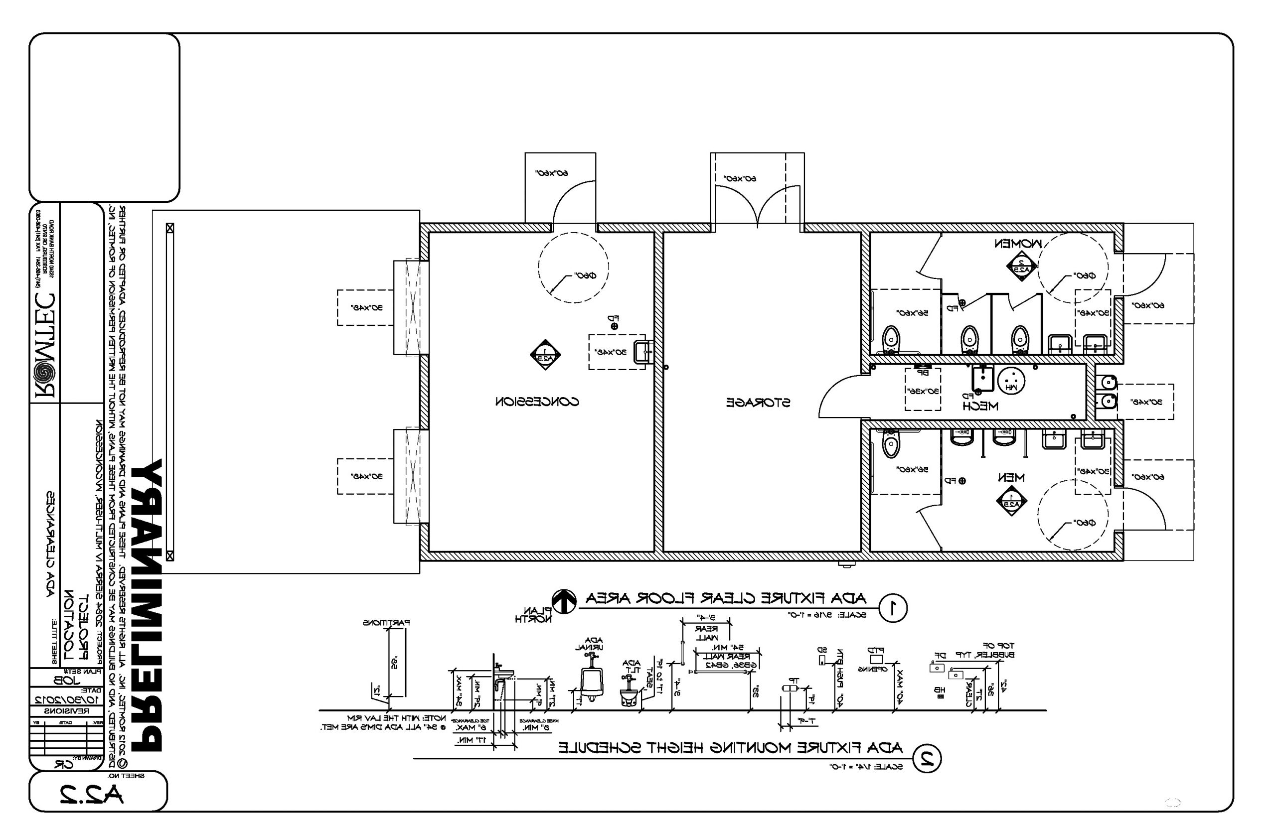 Restroom Design And The Americans With Disabilities Act Ada Bathroom Design Guidelines