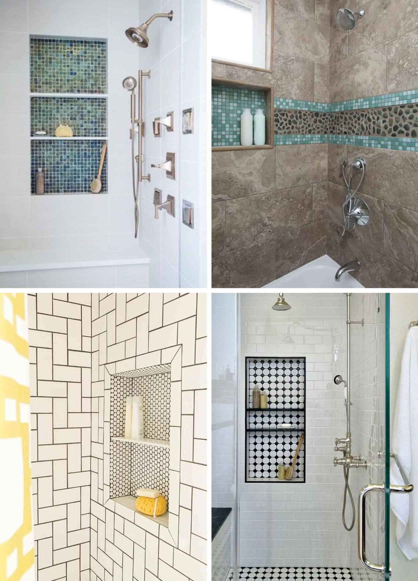 "Rethinking The Shower Niche (& Why I Think The Ledge Is ""Next"") 40+ Bathroom Niche Design Ideas"
