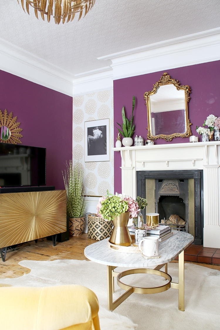 Should You Paint Above The Picture Rail? Swoon Worthy Dado Rail Living Room