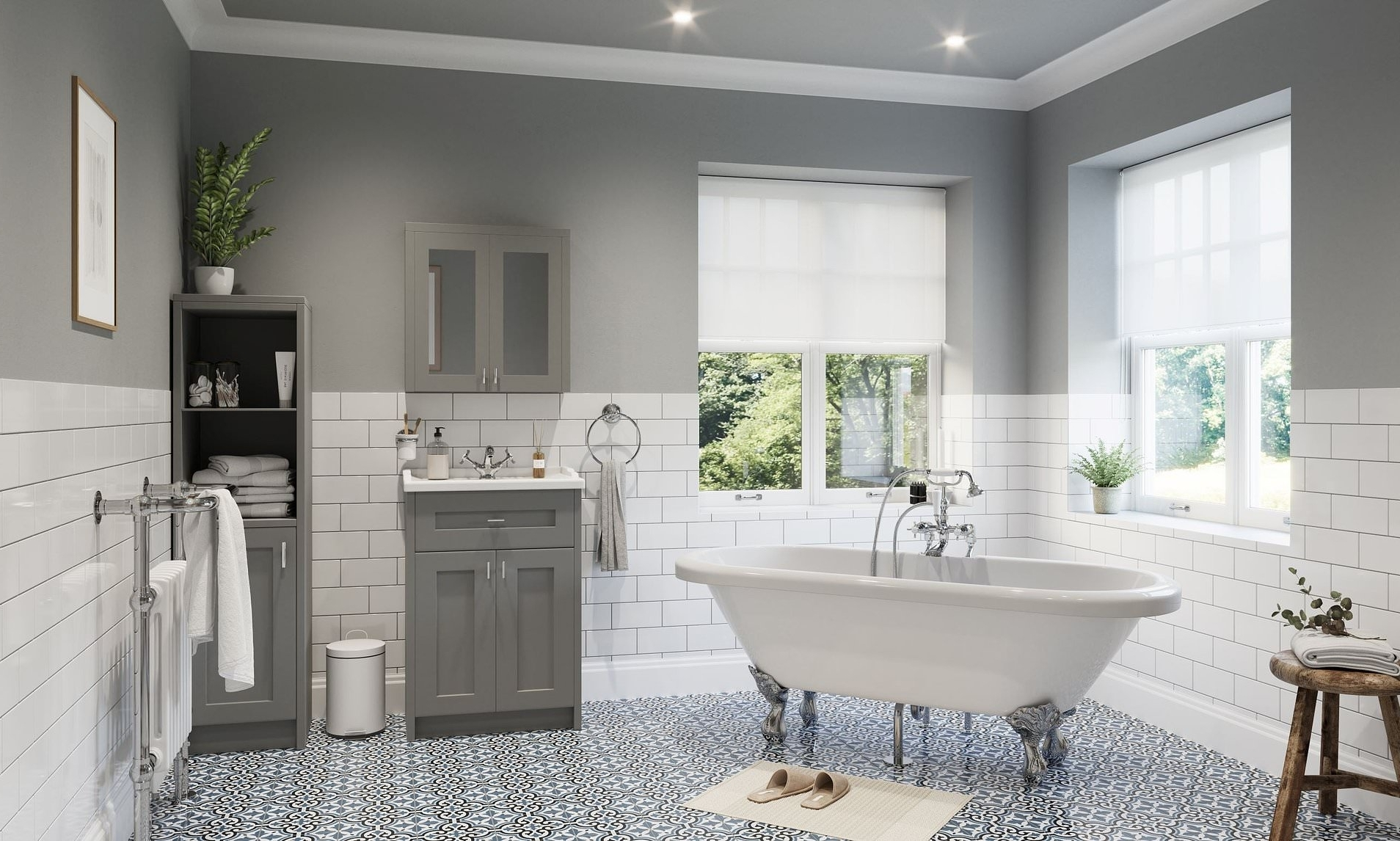 Show Your Bathroom Some Love This Season! How To Create An Wickes Bathroom Design