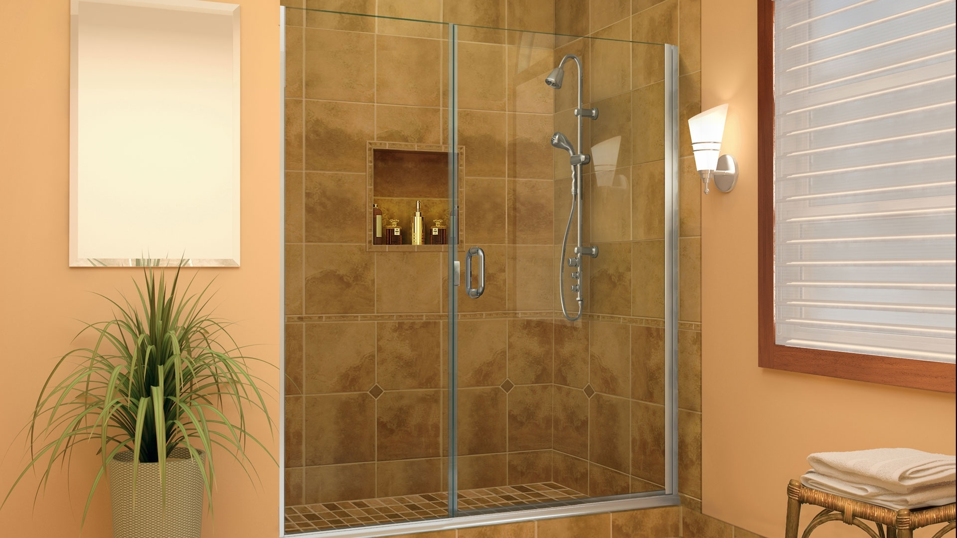 Shower Curtain V/S Glass Enclosures: Which One Is For You? Bathroom Enclosure Designs
