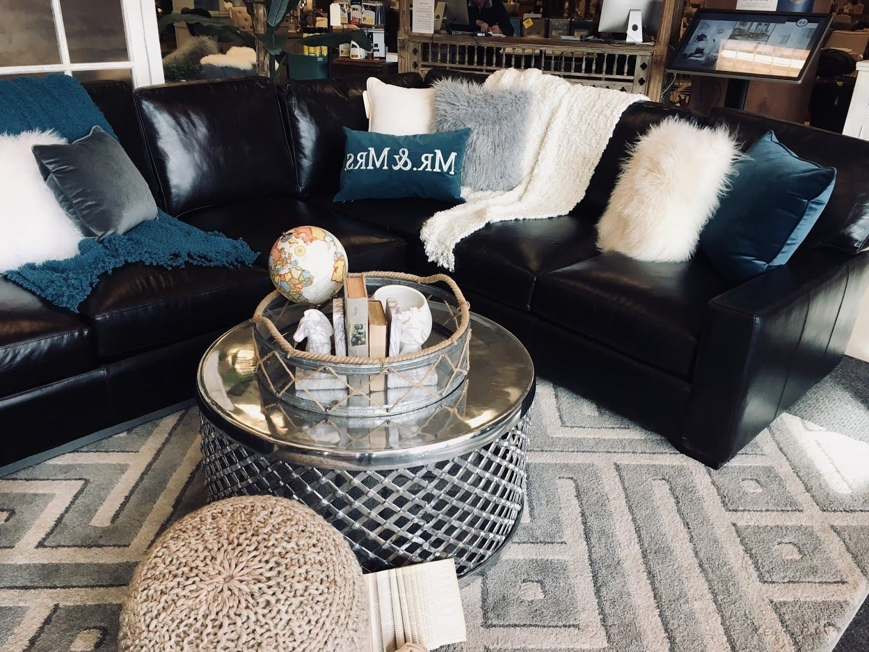 Showhome Luxury Sofas, Showhome Furniture, Show Home Sofa 10+ Living Room Decorating Black Leather Couch Inspirations