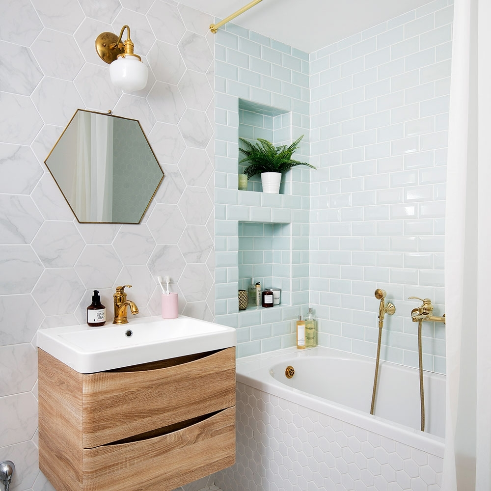 Small Bathroom Ideas – Small Bathroom Decorating Ideas On A Small Windowless Bathroom Decorating