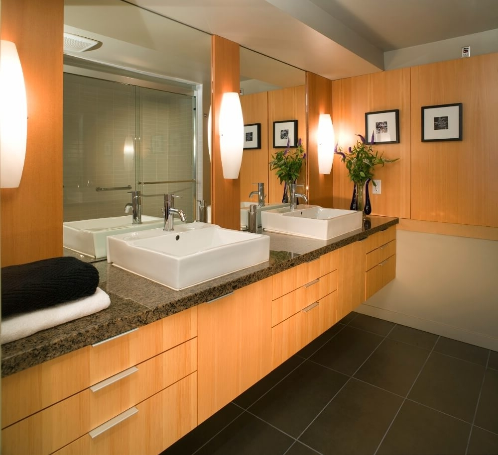 Small Windowless Bathroom Ideas | Bathroom With No Window 10+ Windowless Bathroom Design Inspirations