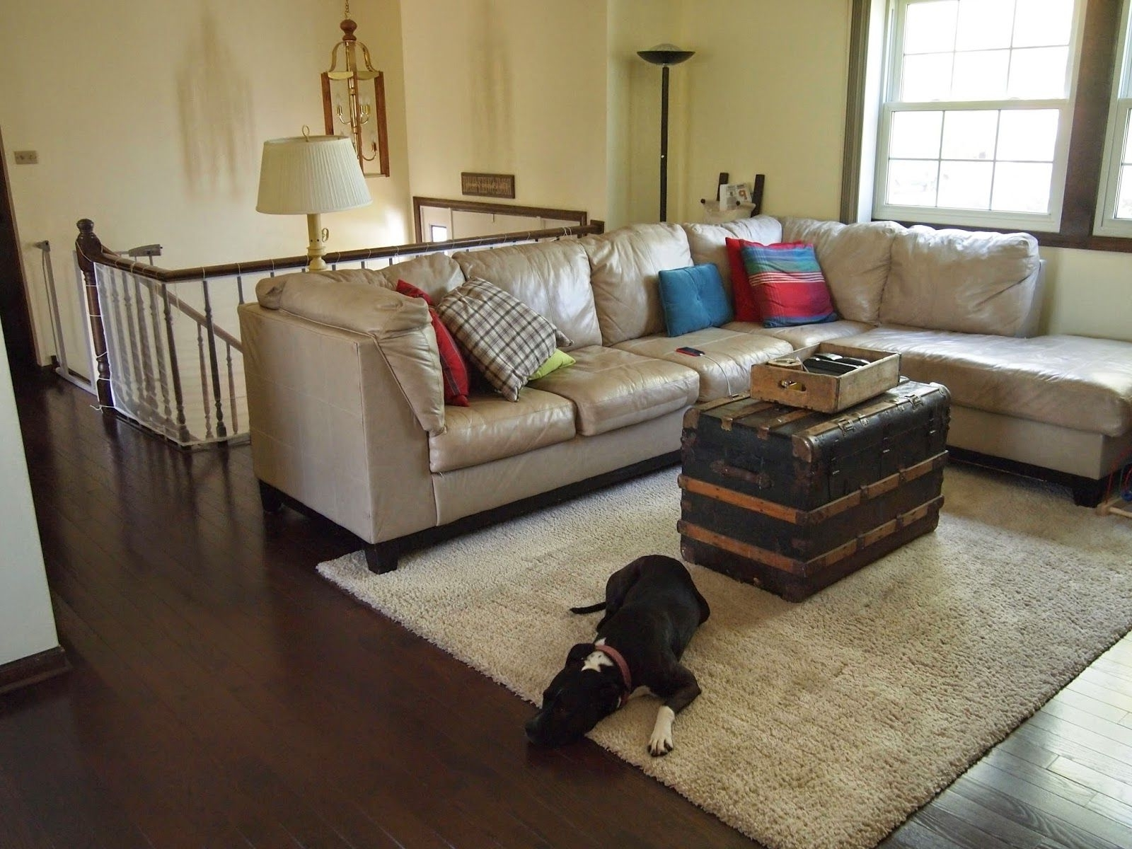 Sparkles And Crafts: Raised Ranch Home Tour | Living Room Raised Ranch Living Room