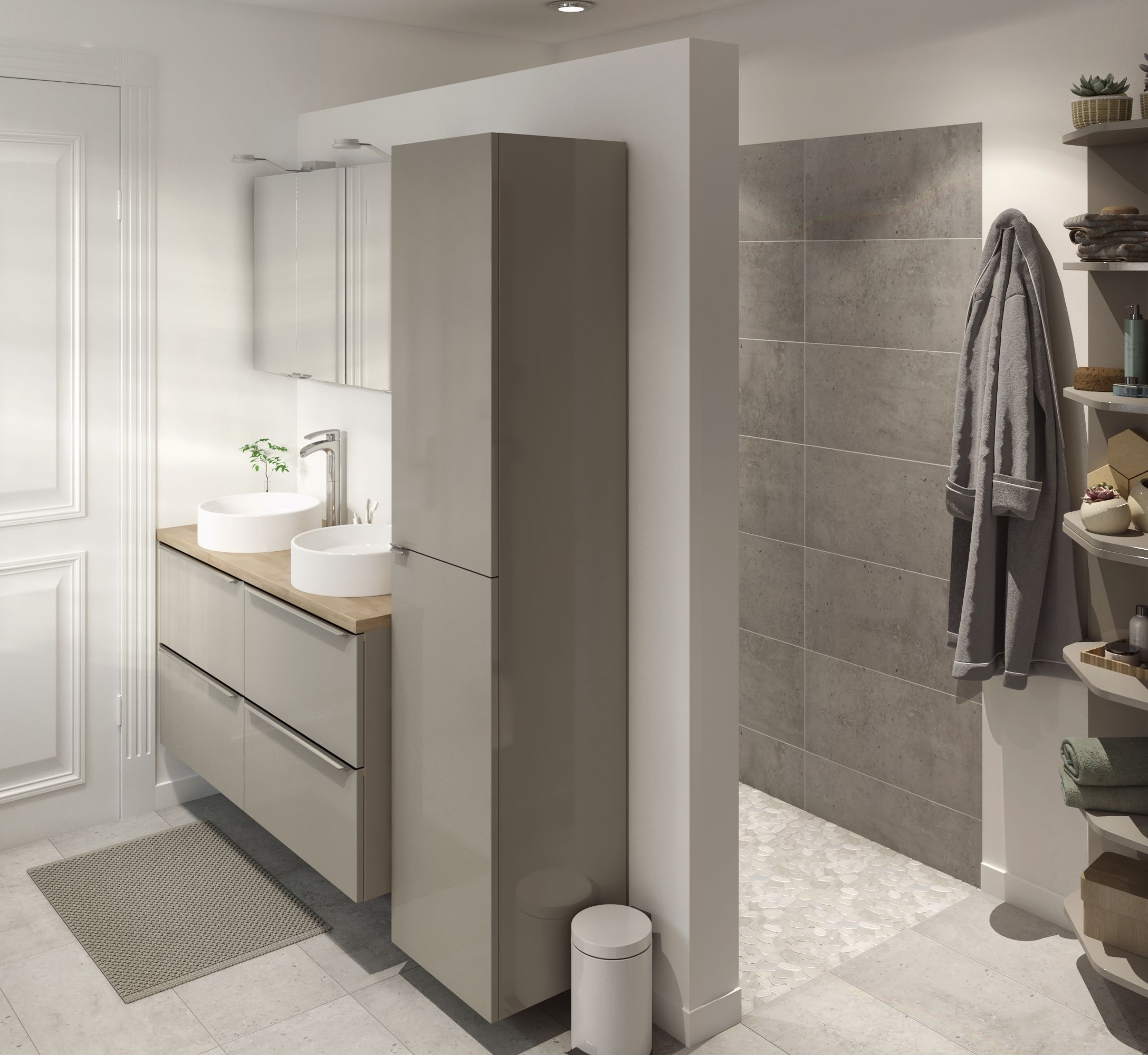 Stylish And Contemporary Is One Way To Describe B&Q'S 10+ B&Q Bathroom Design Service Ideas