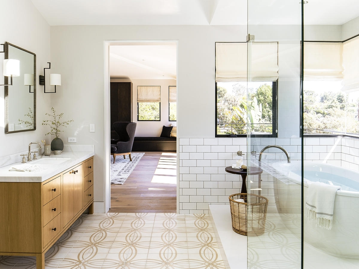 Sunset Makeover: 5 Ways To Create A Subtle Showstopper Sunset Magazine Bathroom