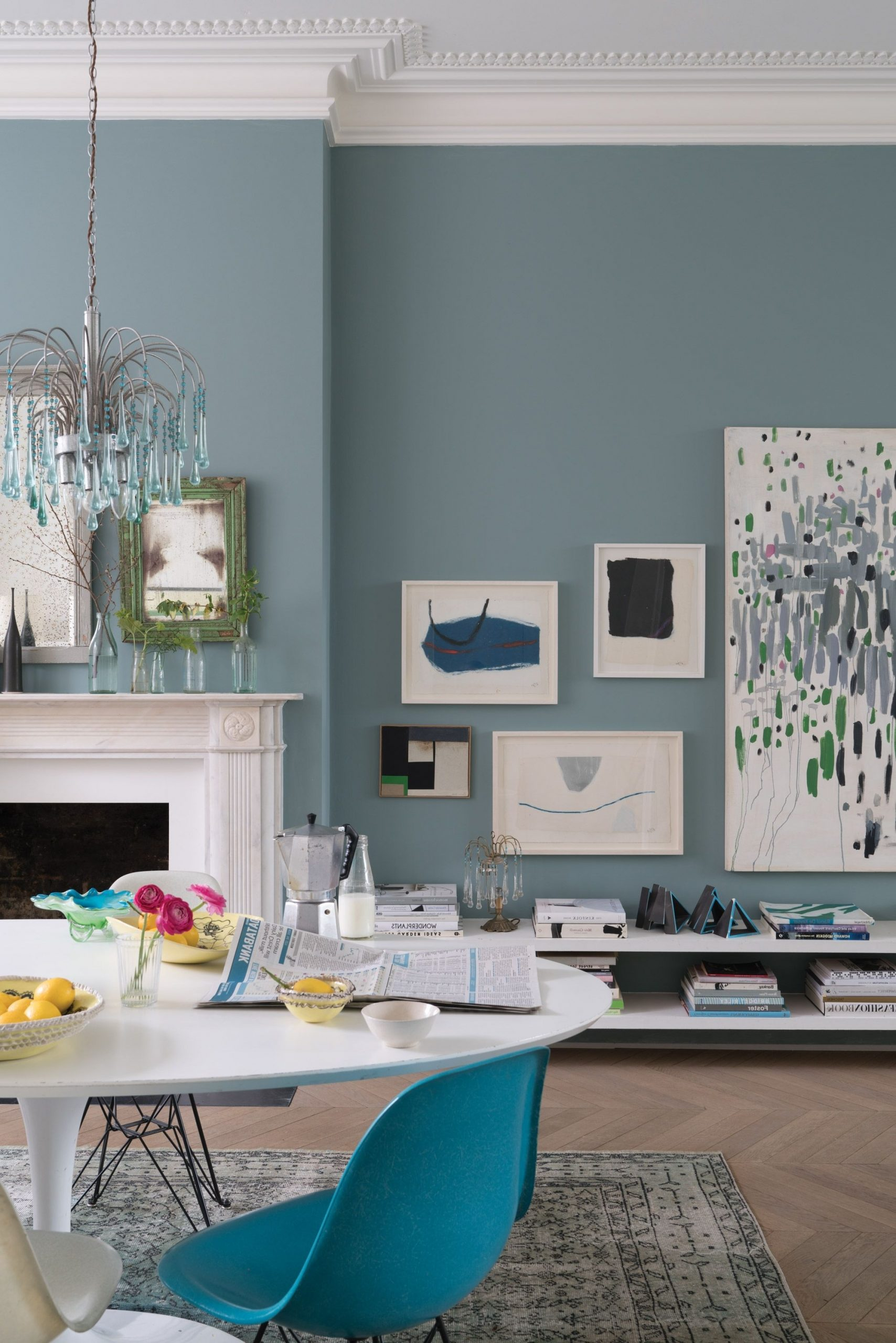 Suspension Lighting Solutions For A Contemporary Dining Room Light Blue Farrow And Ball Living Room