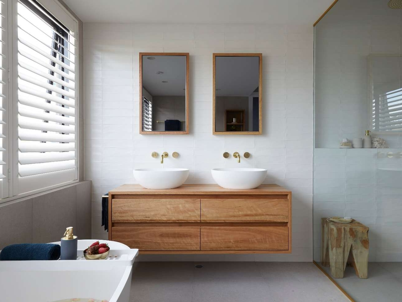 The Block 2019: Week 6 Master Ensuite Bathroom Reveals | Photos 20+ Ensuite Bathroom 2019 Inspirations