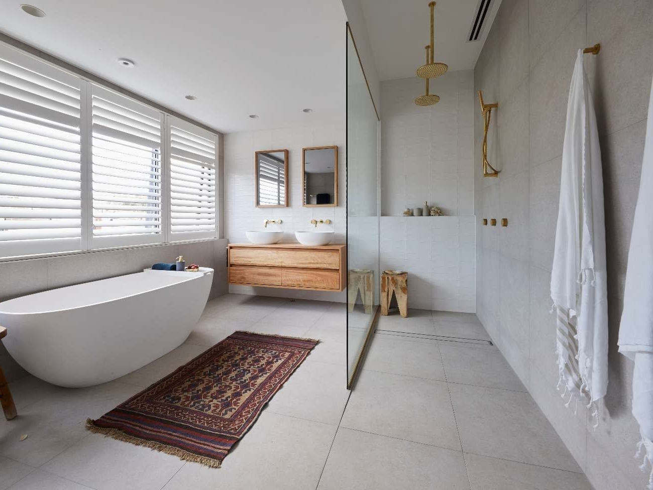 The Block 2019: Week 6 Master Ensuite Bathroom Reveals | Photos Ensuite Bathroom 2019