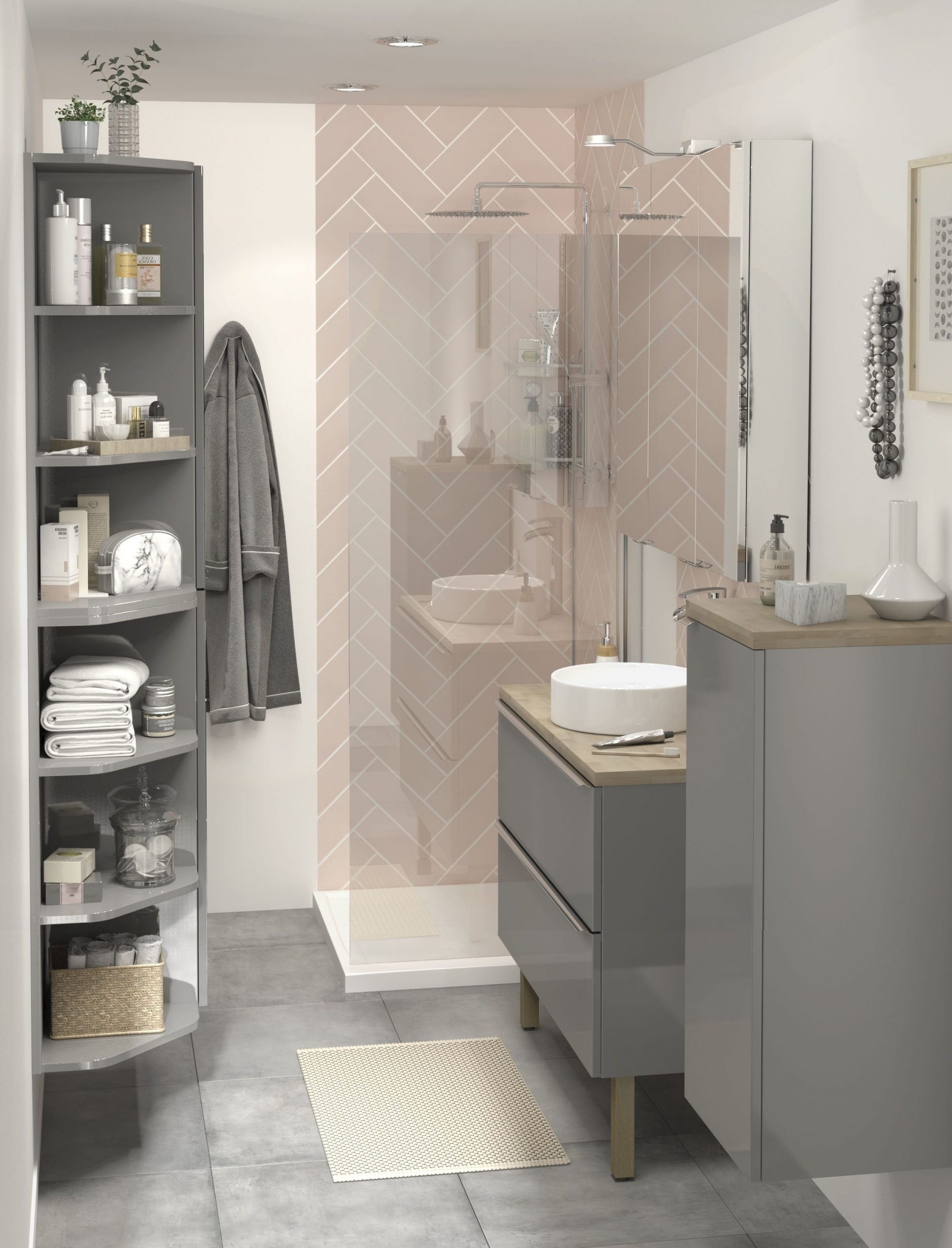 The Imandra Bathroom Collection From B&Q Not Only Comes In A B&Q Bathroom Design Service