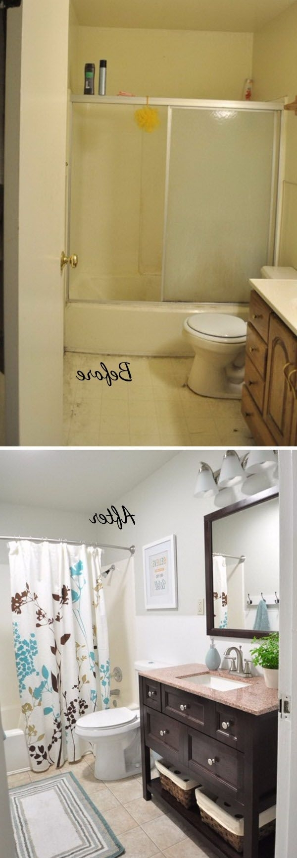 The Immensely Cool Diy Bathroom Remodel Ways You Cannot Find 40+ Mobile Home Bathroom Renovation Ideas