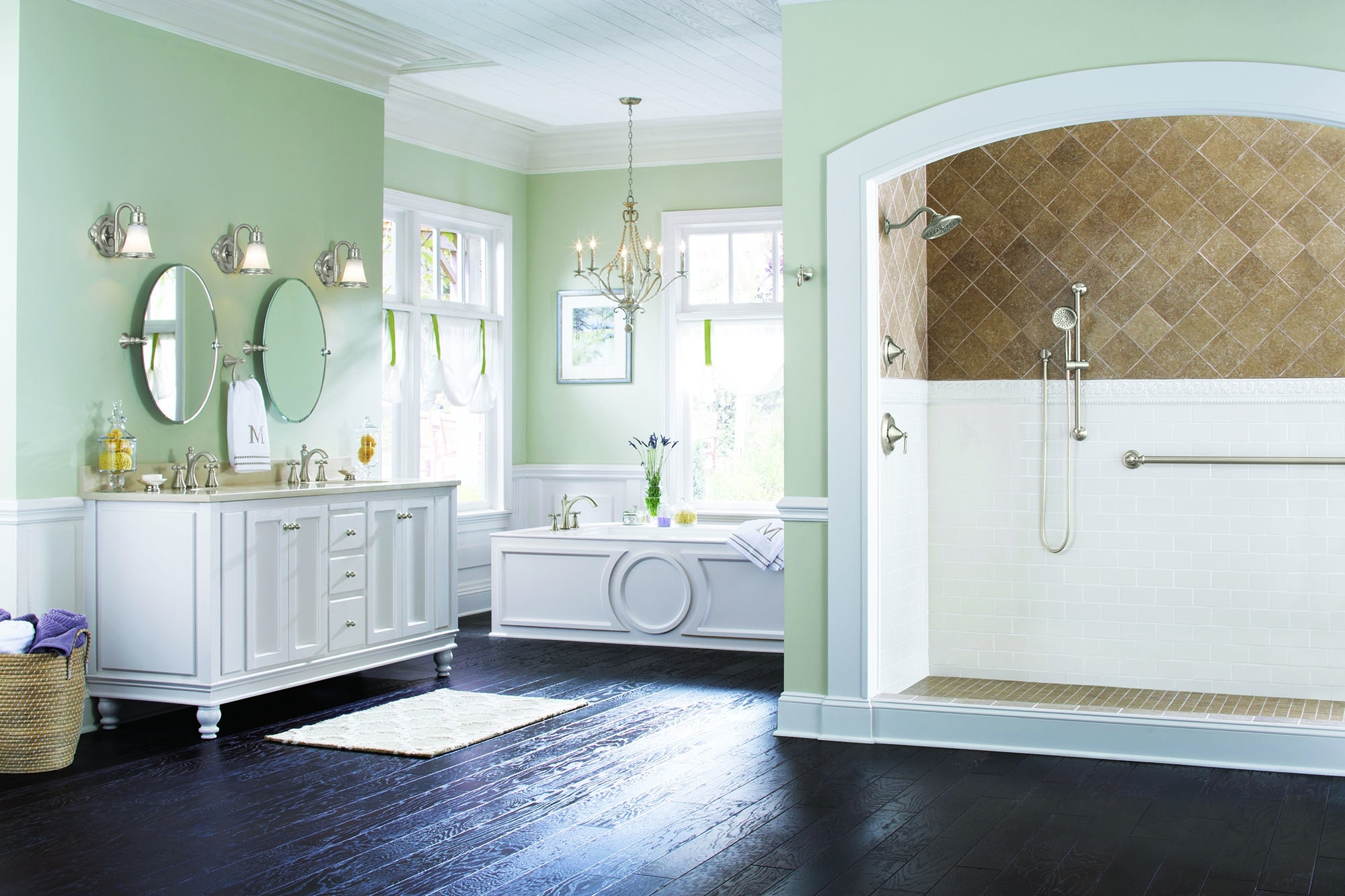 The New Moen® Wynford™ Collection Adds Exceptional Beauty To Moen Bathroom Design