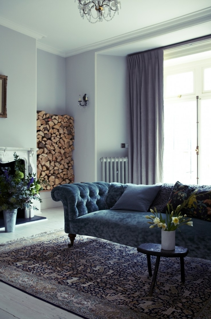 The Power Of Pastels: A London House Reimagined Remodelista 20+ Farrow And Ball Light Blue Living Room Inspirations