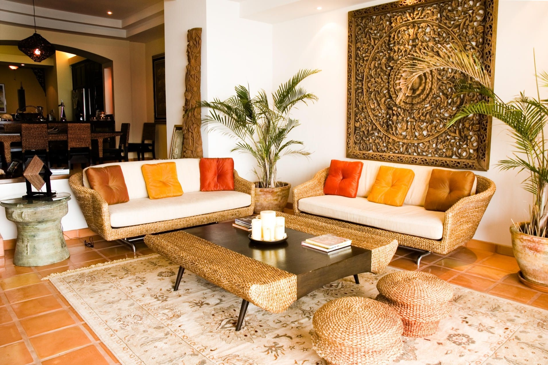 Themed Living Room Tropical Decoration Ideas | Tropical Hawaiian Decor Living Room