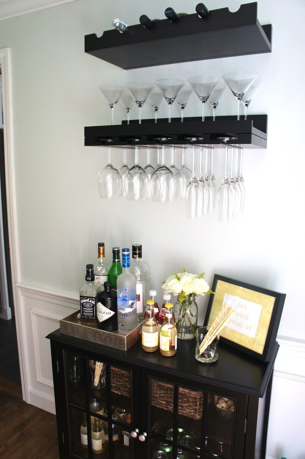 This Is Pretty Much Exactly What I Got And Will Be Doing In Small Living Room With Minibar