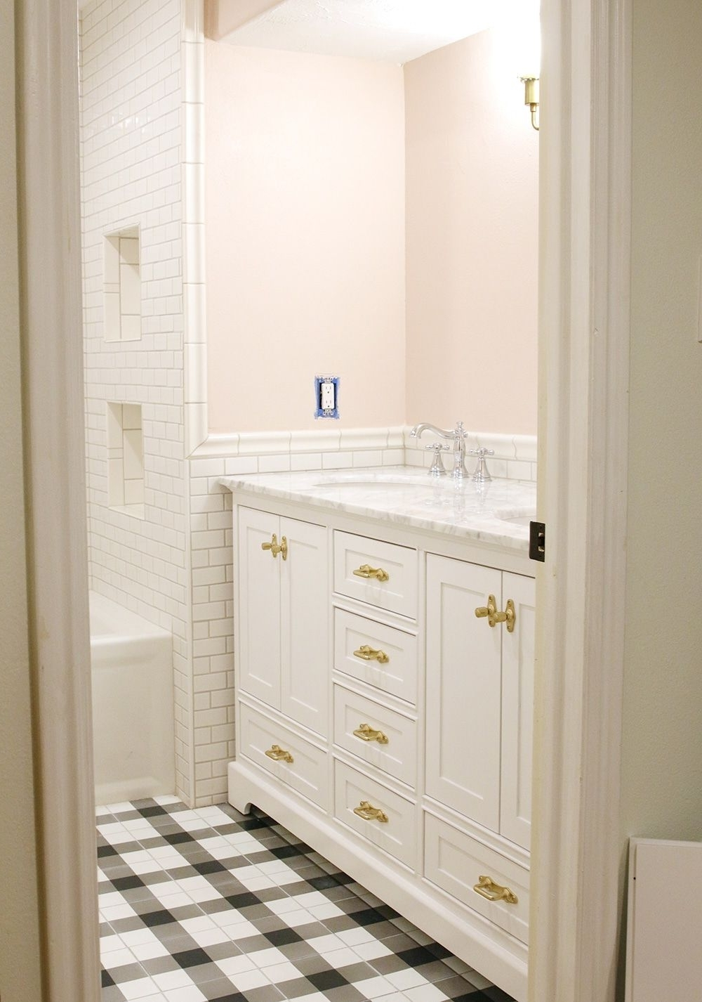 This Post Is Sponsoredhandy Paint Products. I Didn'T 20+ Small Windowless Bathroom Decorating Ideas