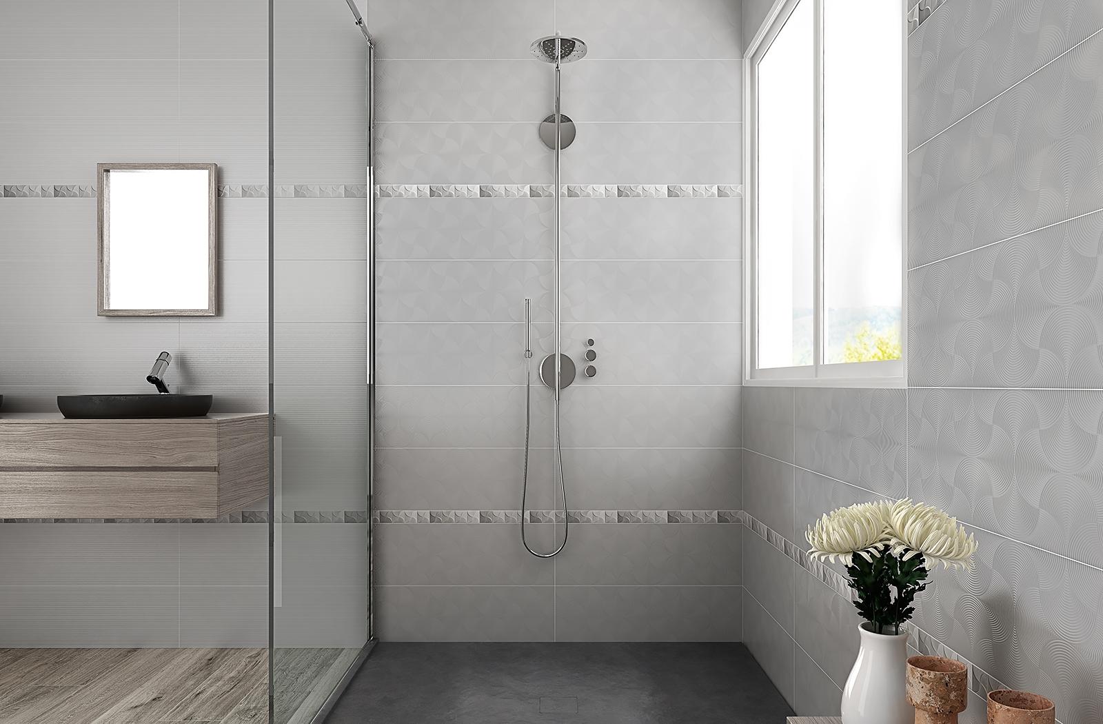 Triboo Series | Porcelain | Olympia Tile 40+ Olympia Tile Bathroom Inspirations