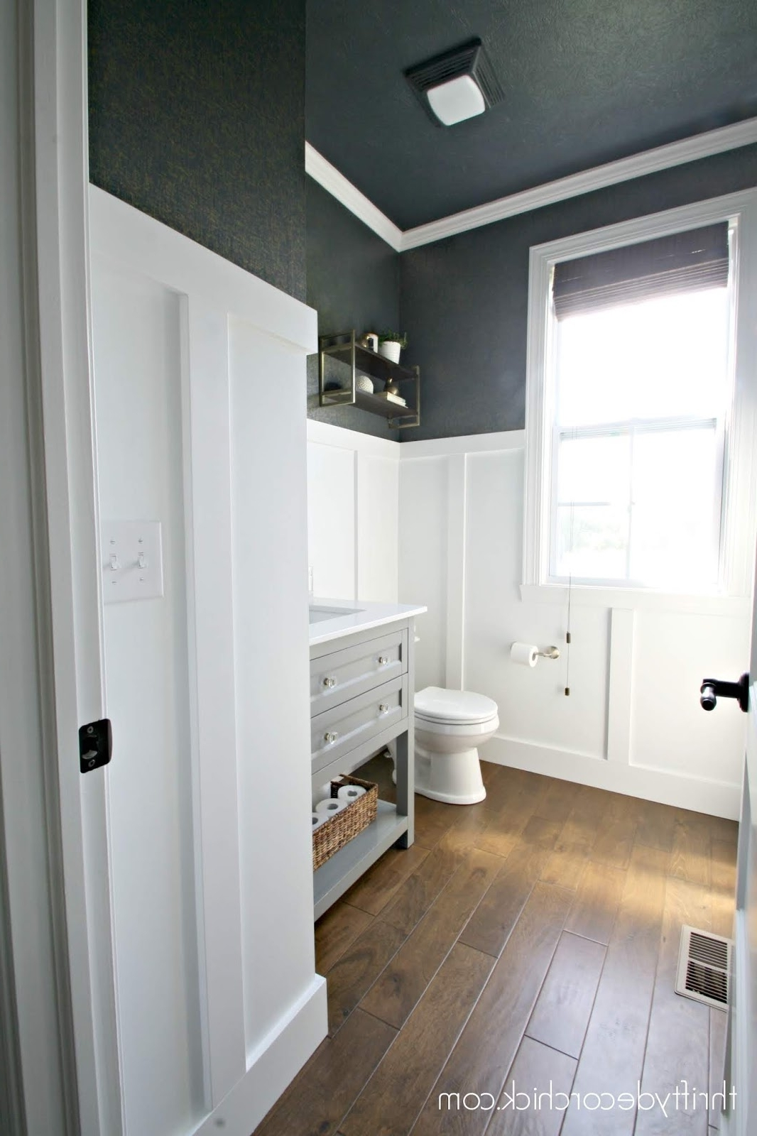Twenty Gorgeous Ways To Incorporate Board And Batten In Your Board And Batten Small Bathroom