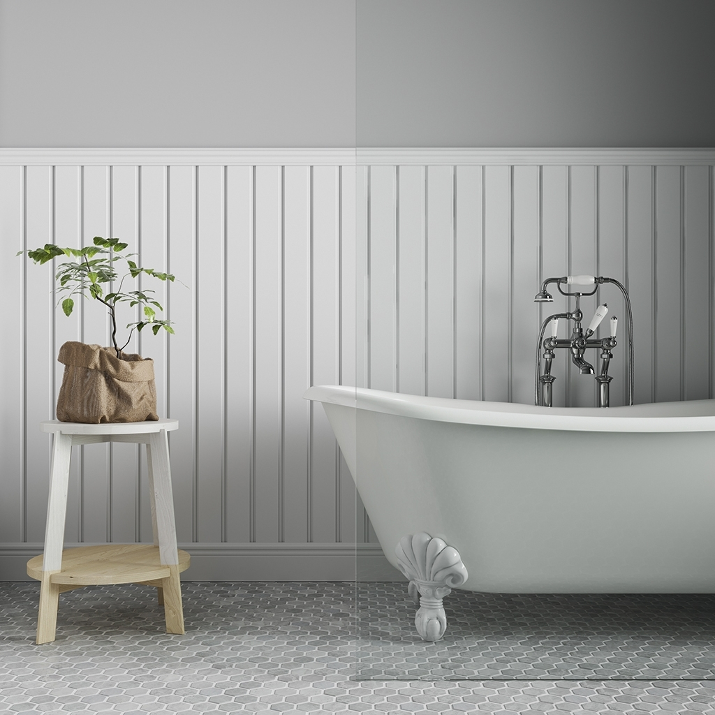 Wainscoting Santa Luzia Mouldings 20+ Wainscoting Bathroom Pictures Inspirations