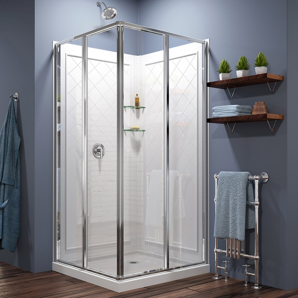 Walk In Shower Ideas The Home Depot Bathroom Enclosure Designs