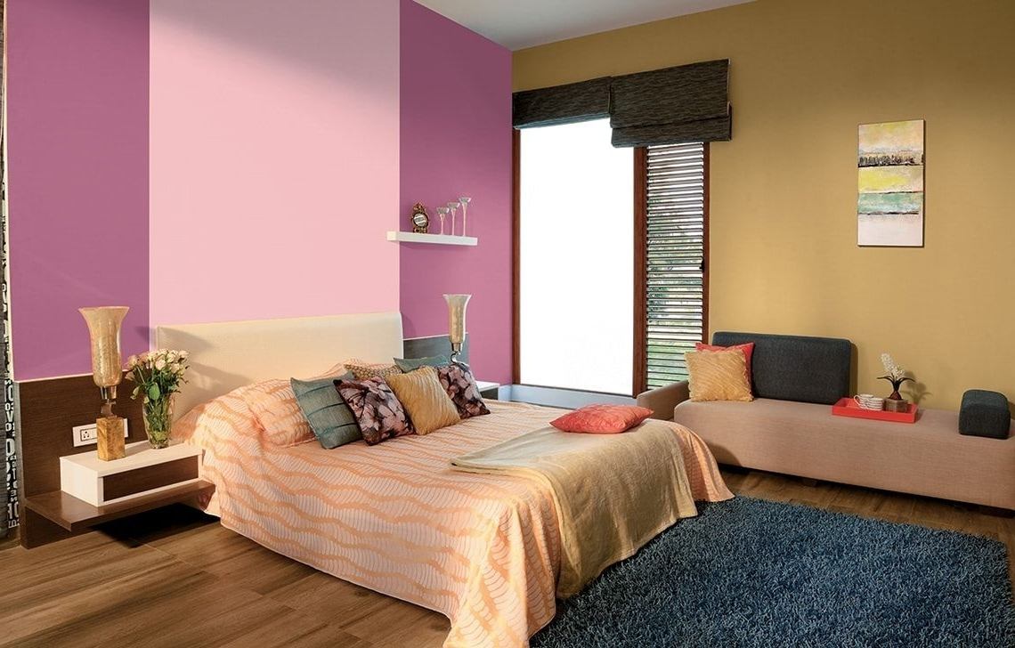 Wall Colour Combinations Asian Paints | Bedroom Color 20+ Asian Paints Colour Combination Living Room Ideas