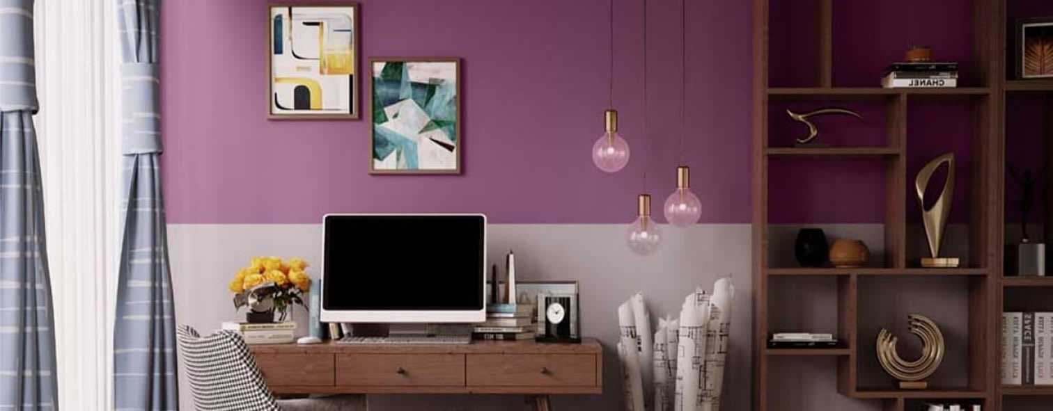 Wall Paints, Home Painting & Paint Colour Combinations In Asian Paints Model Living Room Pictures