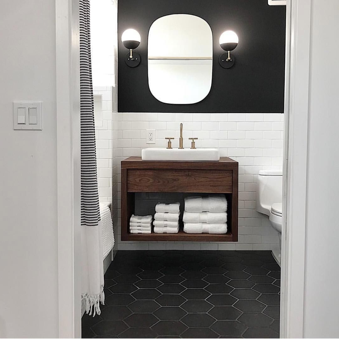 We Love Love How @Formulary55 Places The Myrtle Sconces In Airbnb Bathroom