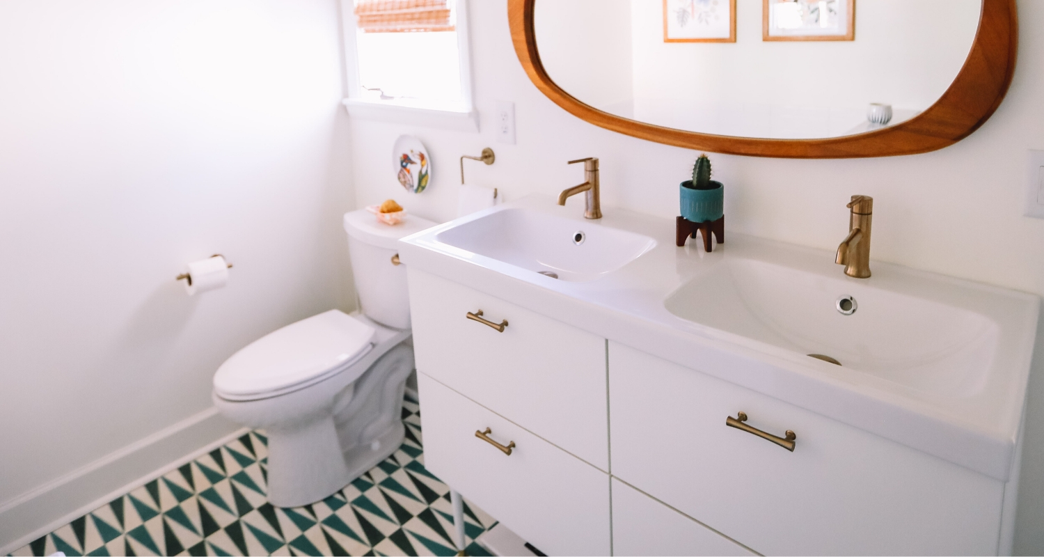 What Is A Half Bath? The Mystery Behind Fractional Bathrooms Cream Bathroom Suite