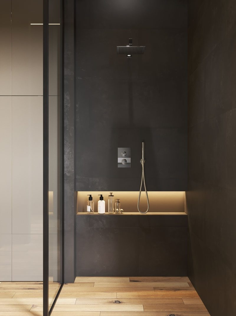 What Is The Standard Height For A Shower Niche? 40+ Bathroom Niche Design Ideas