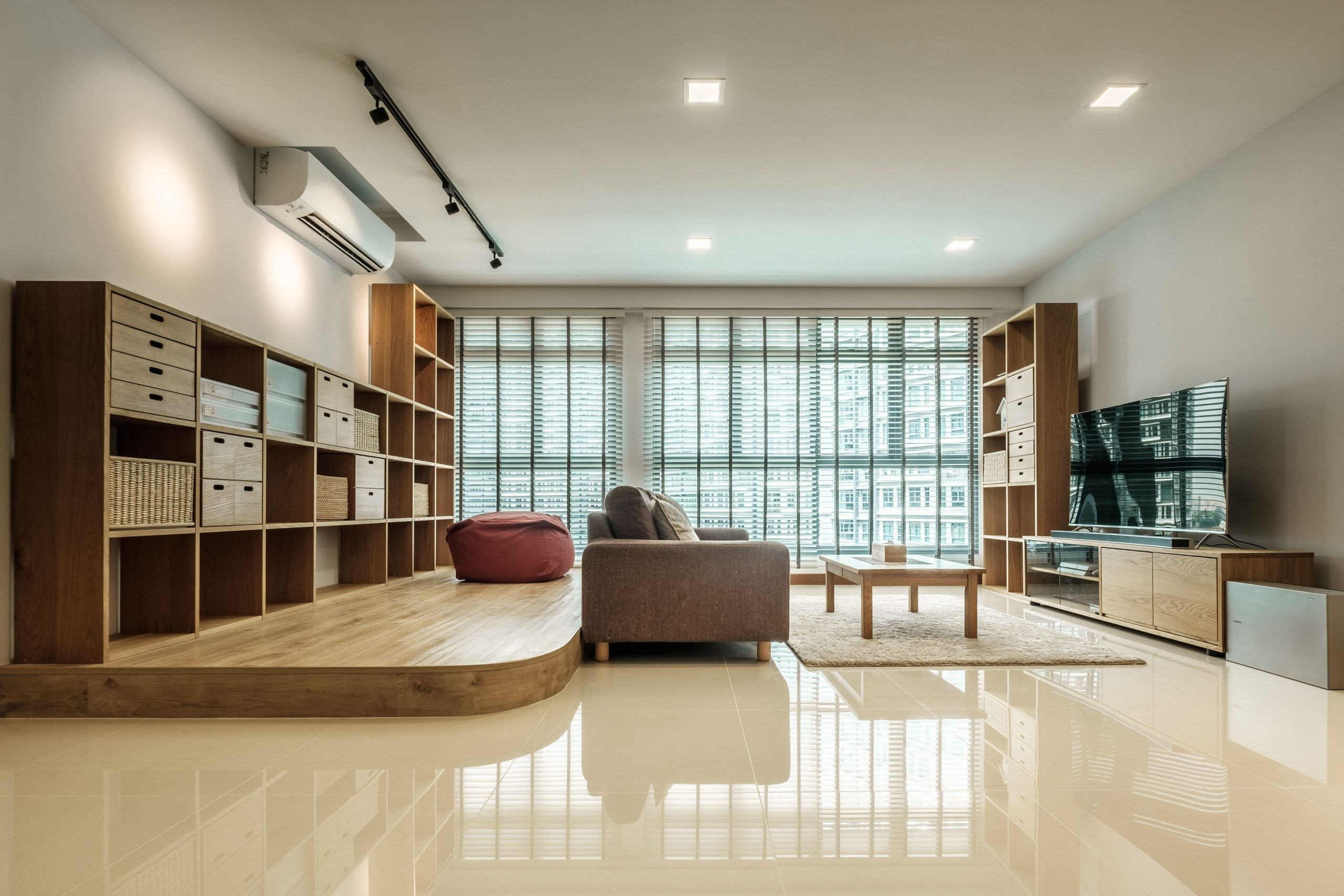 """What To Do With That """"Suggested Study"""" Area In Your 5 Room 20+ Bto Living Room Ideas"""