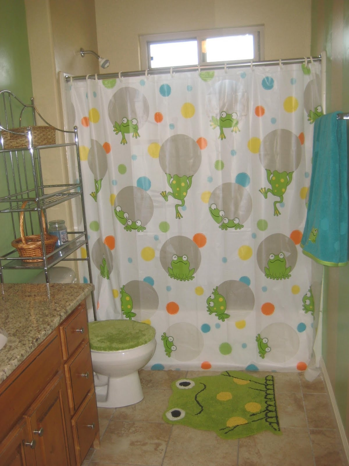 What To Wear With Khaki Pants: Frog Bathroom Accessories Frog Bathroom Decorating