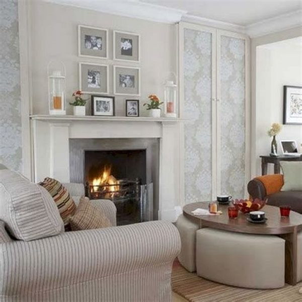 Cool Chimney Ideas For Living Room 40