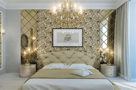 Totally Comfy White And Gold Themed Bedroom Ideas 16