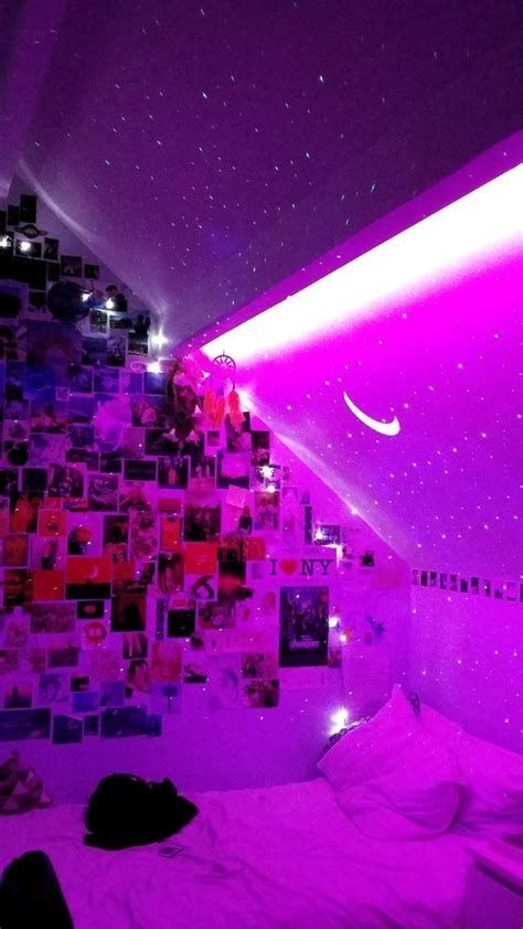 Amazing Aesthetic Rooms With Led Lights Ideas 19