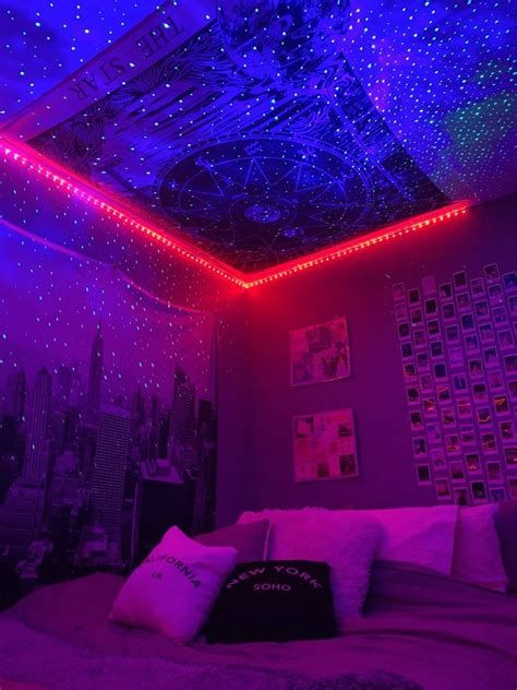 Amazing Aesthetic Rooms With Led Lights Ideas 22