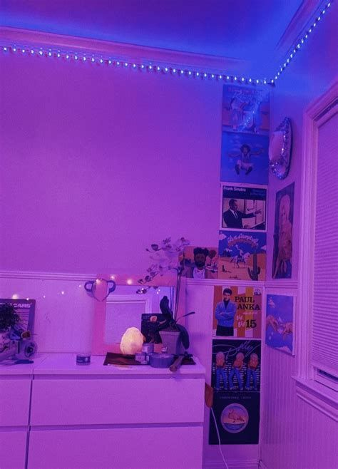 Amazing Aesthetic Rooms With Led Lights Ideas 44